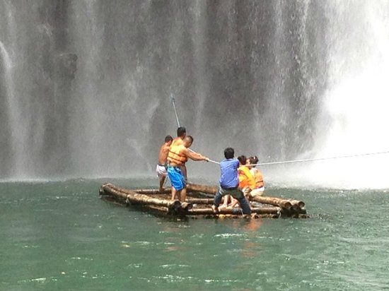 Iligan, Filipiny: Tinago Falls, Illigan - July 2013