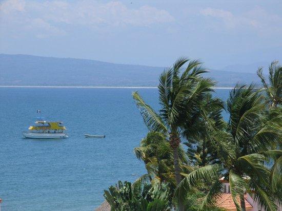 Hotel y Suites Bugambilias: vista de la terraza