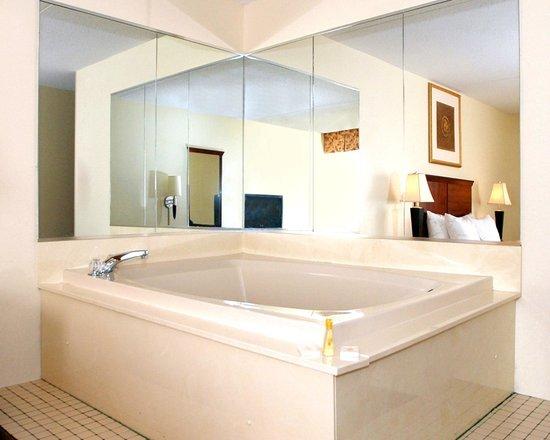 Comfort Inn : 2 Person Whirlpool Room (Whirlpool is in the bedroom)