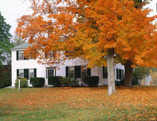 Autumn at the Colby Hill Inn
