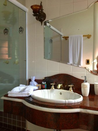 Hotel Boutique Quinta das Videiras: Toilette Suite Master