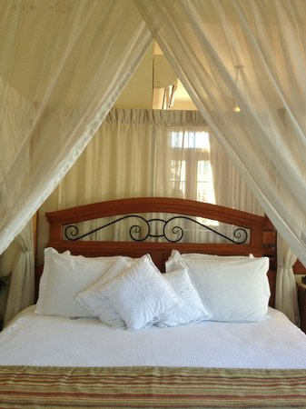 Hotel Boutique Quinta das Videiras: Cama Suite Master