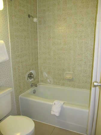Vagabond Inn Executive Sacramento Old Town: Banyo