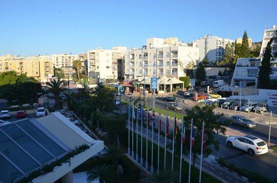 Mediterranean Beach Hotel : View from room