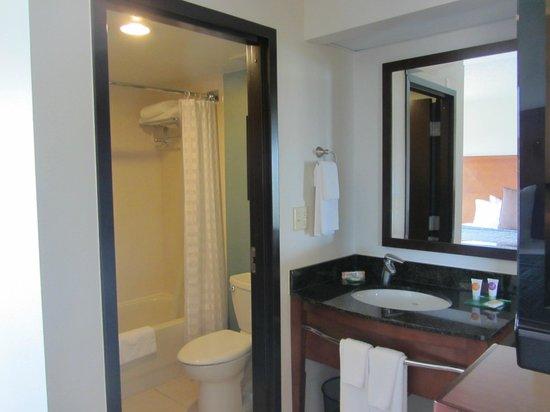 Hyatt Place Orlando Airport: bath