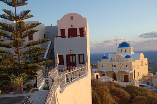 Dream Island Hotel at Sunrise