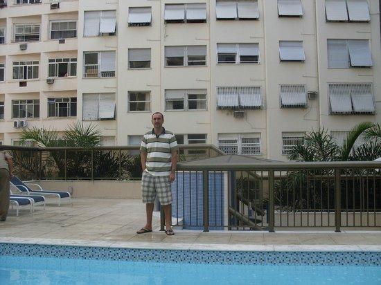 Hotel Astoria Copacabana: Piscina do hotel