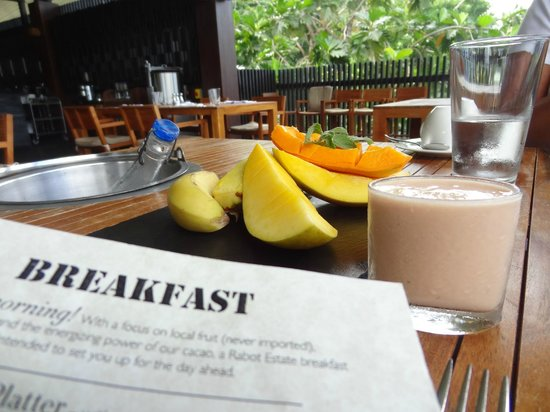 Boucan by Hotel Chocolat : yummy breakfast!