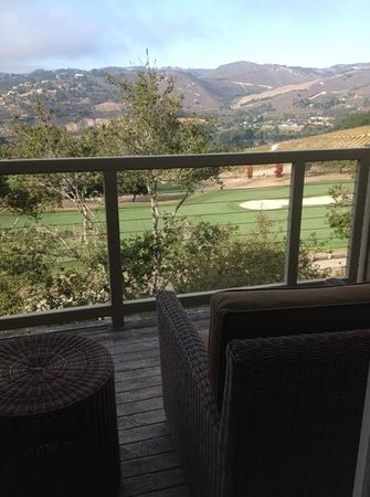 Carmel Valley Ranch: The view from Room 307 in the Ranch Suites.