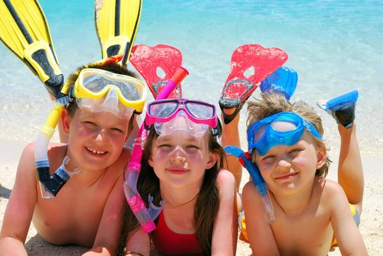 Port Elliot Holiday Park: snorkelling and swimming