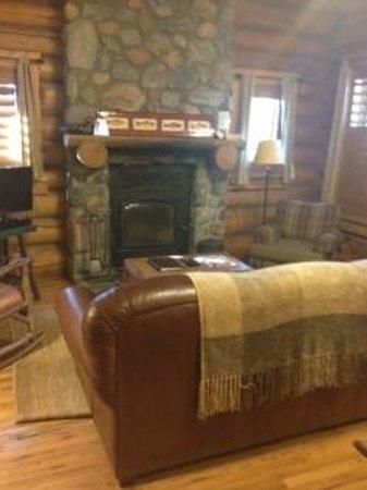 Devil's Thumb Ranch Resort & Spa: cabin living room