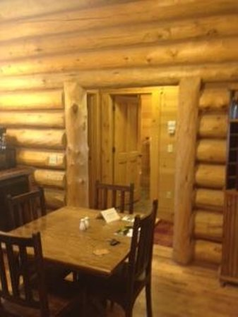 Devil's Thumb Ranch Resort & Spa: cabin kitchen