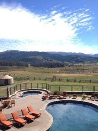 Devil's Thumb Ranch Resort & Spa: pool - hot tub - big meadow
