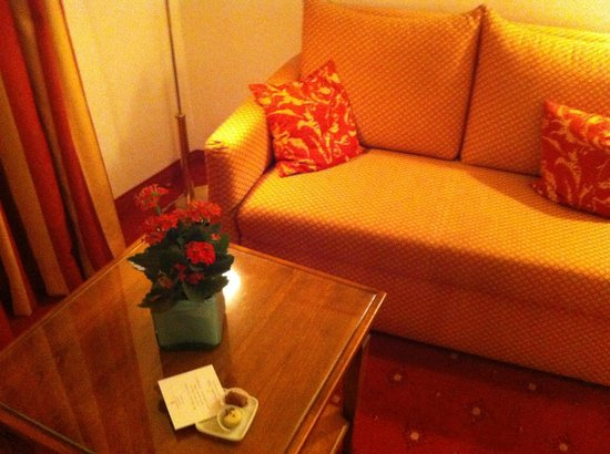 Romantik Hotel Gebhards: Sitting area in room