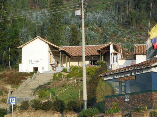 Pantano de Vargas  Monumento a los 14 lanceros: Museo