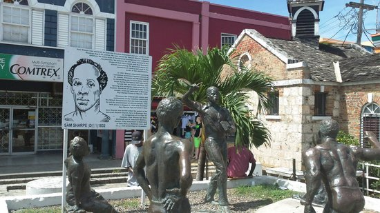 Image result for Sam Sharpe Square jamaica