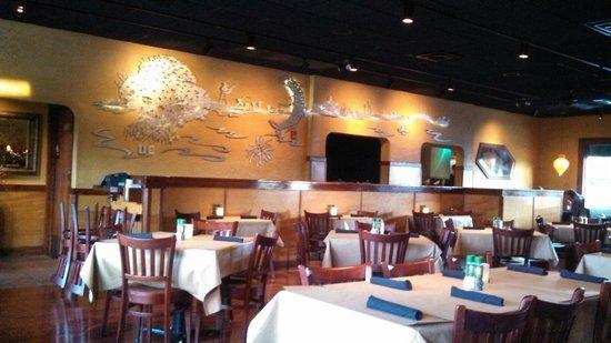 Bonefish Grill: Interior decor