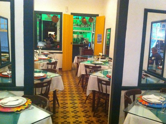 Restaurante do Hiltinho: internal view of the restaurant
