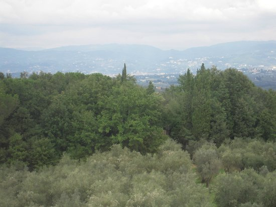 Villa Mangiacane: Florence in the Distance