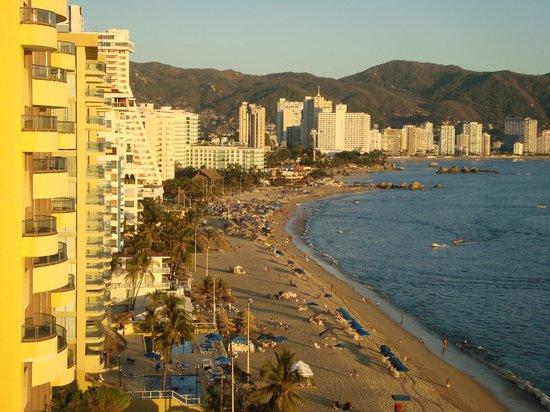 Ritz Acapulco : Vu de notre chambre