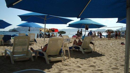 Ritz Acapulco : plage