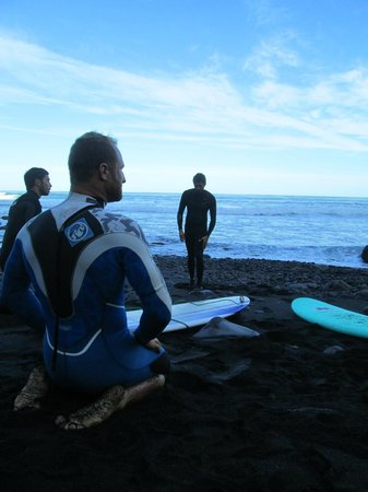 Tenerife Surfing Camp: mattino presto