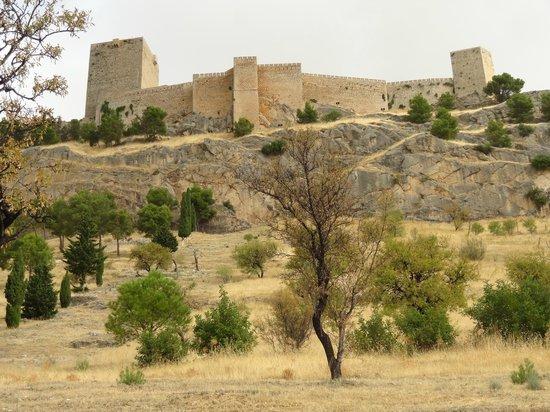 Parador de Jaén: Vista exterior del Castillo de Santa Catalina
