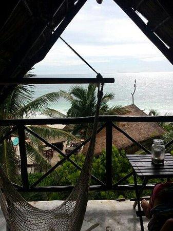 Zulum Beach Club + Cabanas: vue terrasse