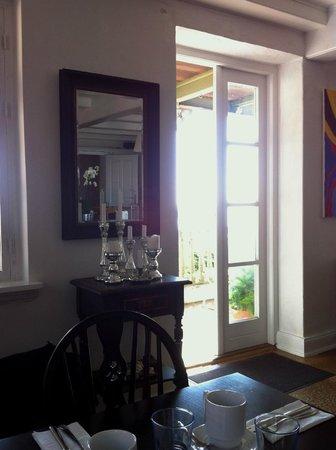 Badehotel Aeroe: Udgangen fra spisesalen
