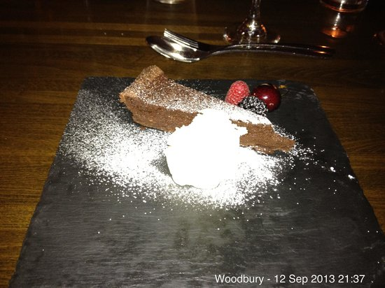 Woodbury Park Hotel & Golf Club: Enticing & delicious