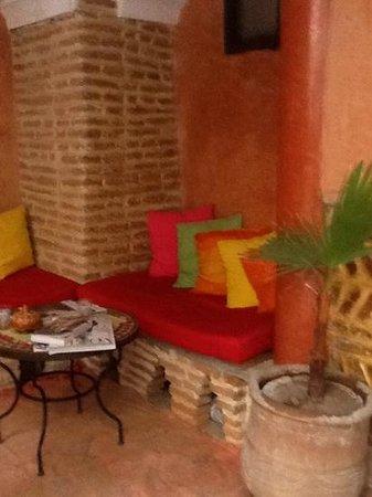 Riad Plein Sud : In the courtyard