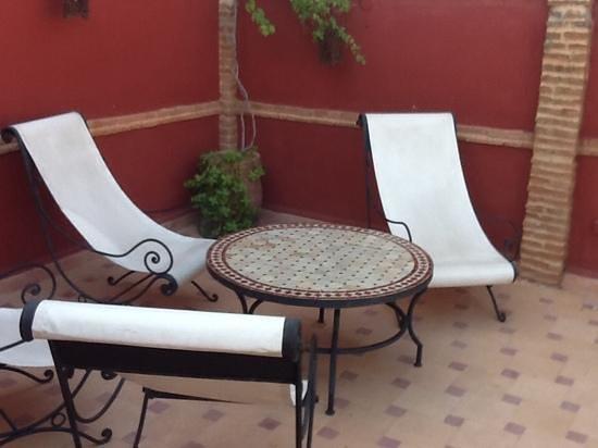 Riad Plein Sud : On the roof terrace