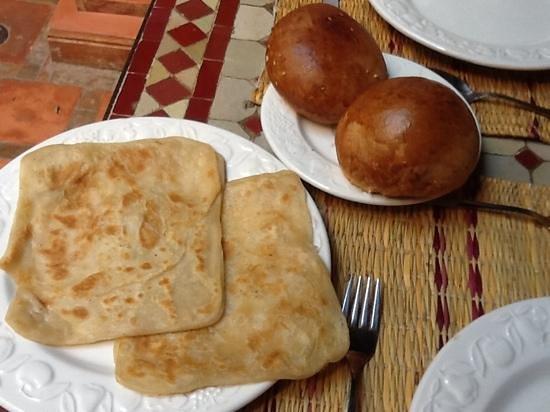 Riad Plein Sud : Morrocan pancakes