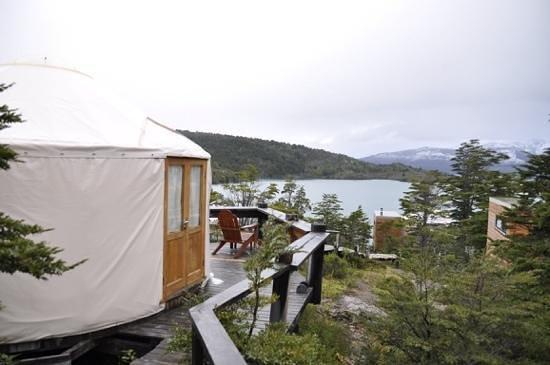 Patagonia Camp: view