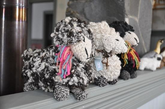 Estancia 440: handmade sheep - great souvenir