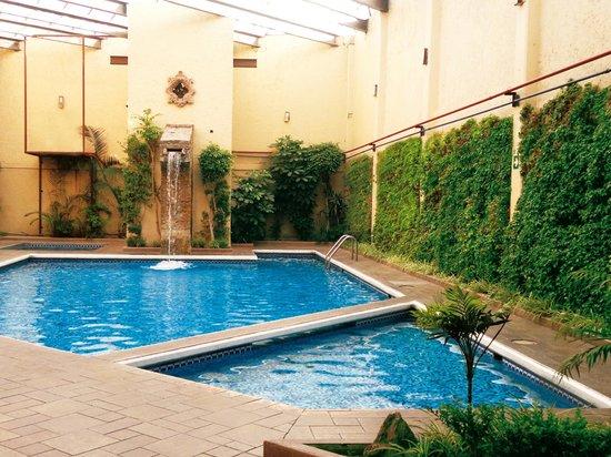 Del Rey Inn Hotel: ALBERCA CLIMATIZADA