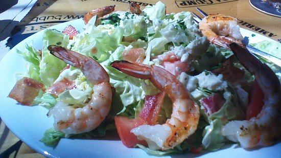 Bubba Gump Shrimp Co. : BLTサラダ