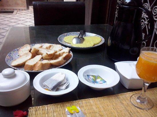 Riad Al Jana: la colazione