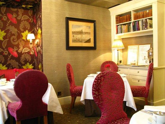 โรงแรมเดอะแคปิทอล: Tea room