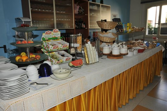 Hotel Metron : la colazione