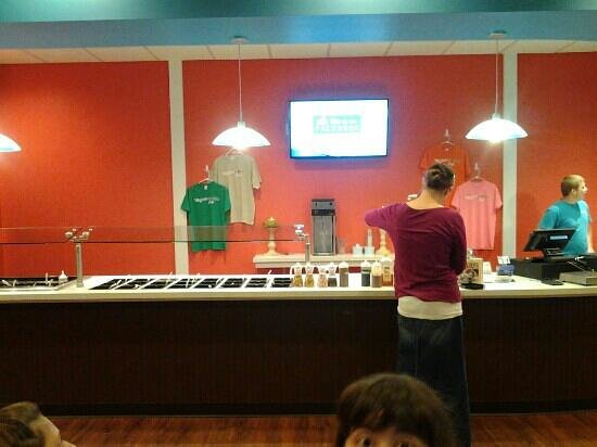 Yogurtworks Cafe: Great treats and pick your toppings. at Yogurt Works!