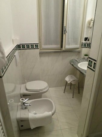 Hotel dei Tigli Angera: Bathroom