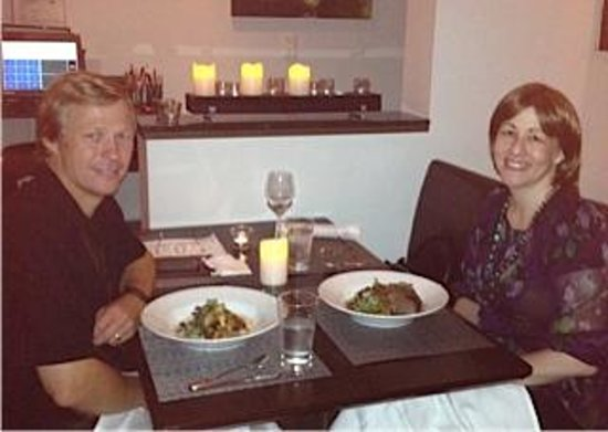 "Painters Hall Bistro: ""Dining with my hubby of 28yrs... celebrating my '50th'!"