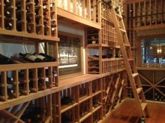 Carnegie Inn & Spa Restaurant: Wine Cellar