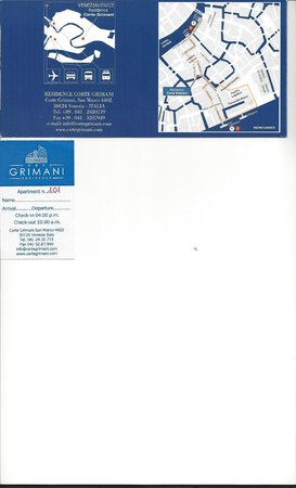 Residence Corte Grimani: brochure and location