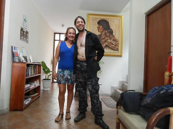 Nativa Apartments : Monika (owner) and me
