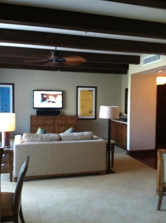 The Ritz-Carlton, Dove Mountain: Living room area