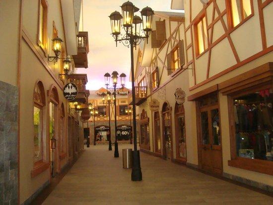 Sonesta Hotel Osorno: linda galeria externa