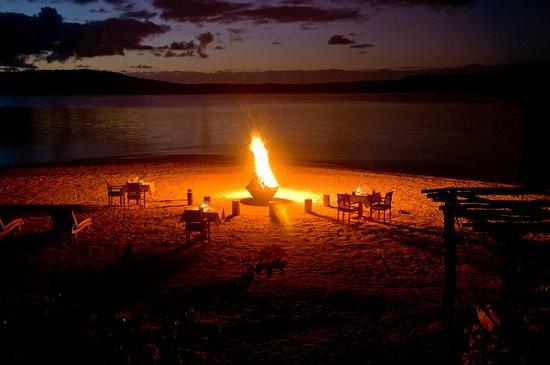 The Havannah, Vanuatu : Dinner on the beach