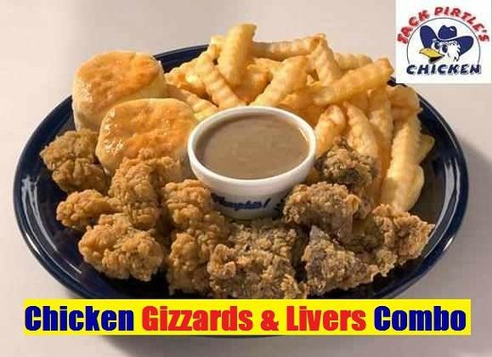 Gizzard Liver Combo Picture Of Jack Pirtle Fried Chicken